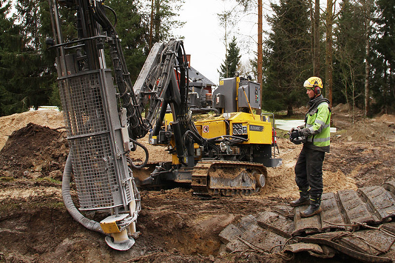 FlexiROC T30 R Construction Edition case story in Finland