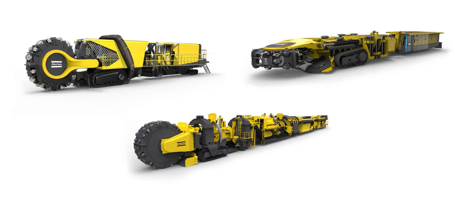 Atlas Copco Mobile Miner product family