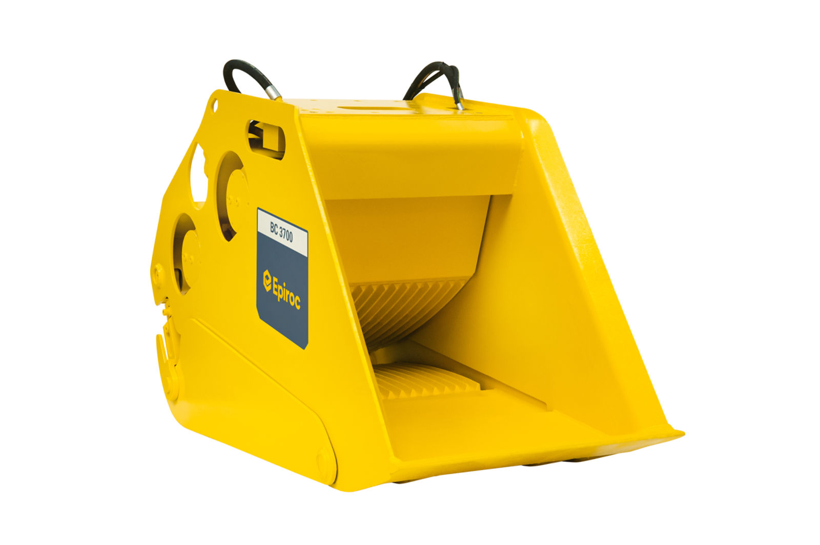 The BC 3700 bucket crusher
