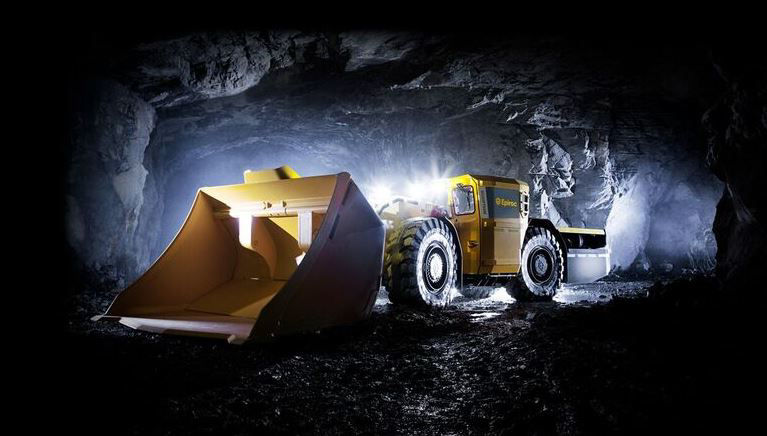 The Epiroc Scooptram ST7 Battery is part of the company's  drive toward fossil-free mines