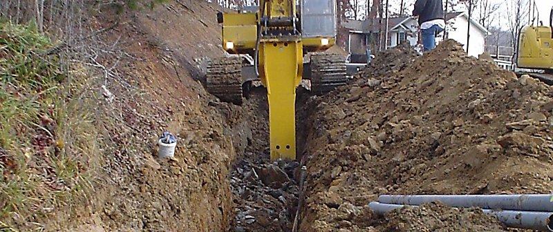 Pipeline trenching | Epiroc