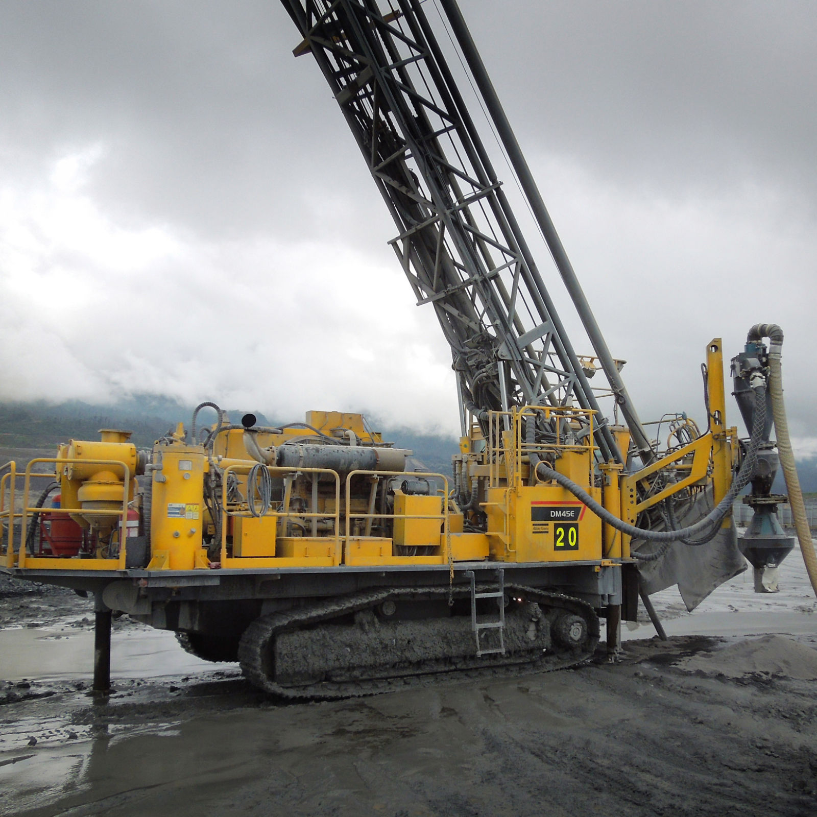 DM45 Reverse Circulation Blasthole Drill Rig